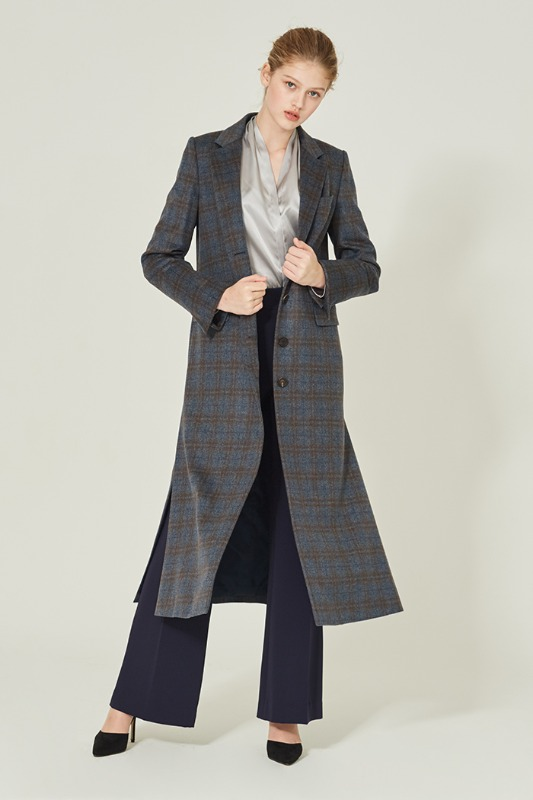 Eugenny's Classic Check Coat